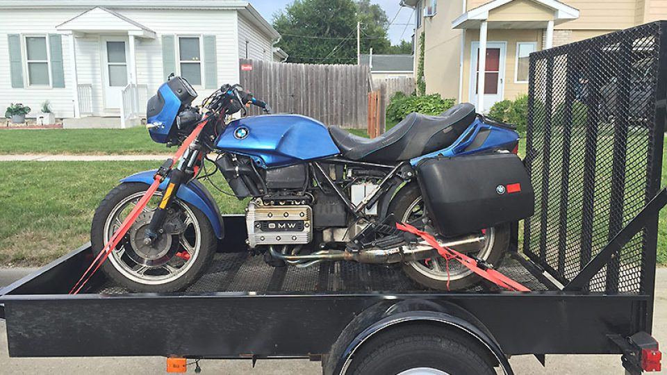 New Project: 1987 BMW K75 C